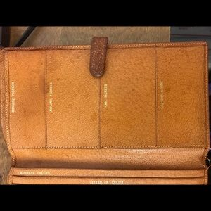Vintage Bags - Vintage Leather Travel Wallet